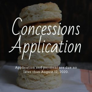 Concessions Application